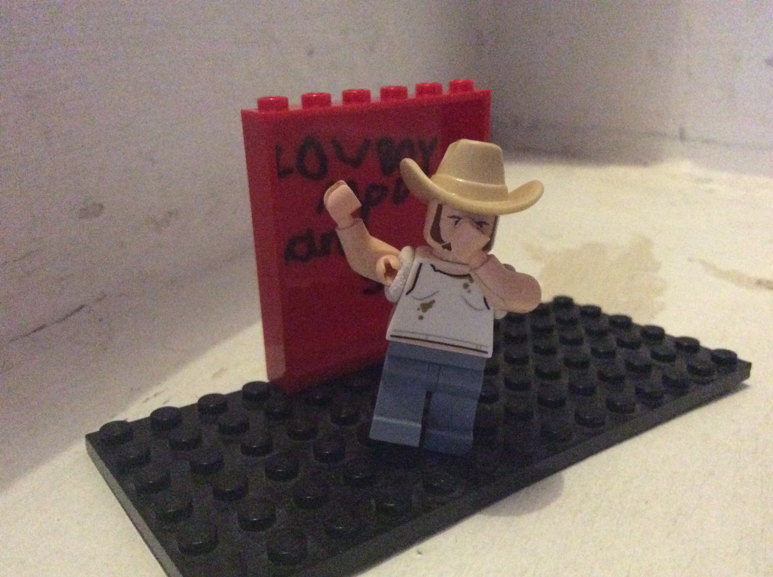 alfie makes me in lego doing the dab | cowboymod